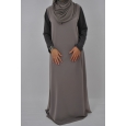 Robe Fente Mousseline Size Ameenah