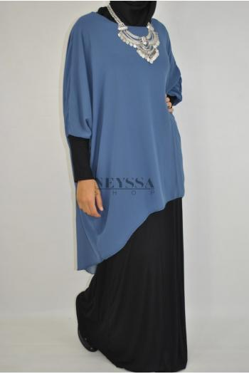 Robe/Tunique Mousseline 2en1 Samiha