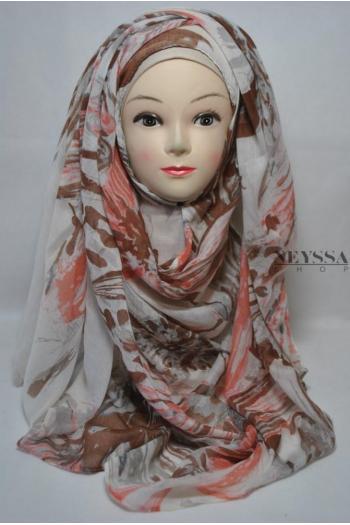 Maxi Hijab All Flowers (doublon du chale selina)