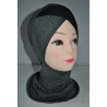 Cagoule sous hijab Bicolore