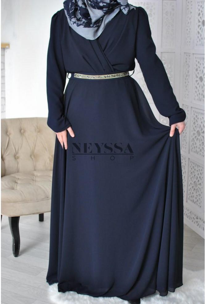 Robe Croisée Ismahane 1m70/72