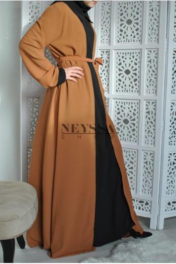 Abaya 2 en 1 Aynur