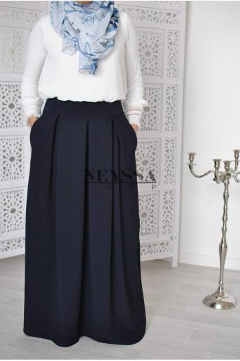 jupe taille haute modest fashion islamique jupe large musulmane