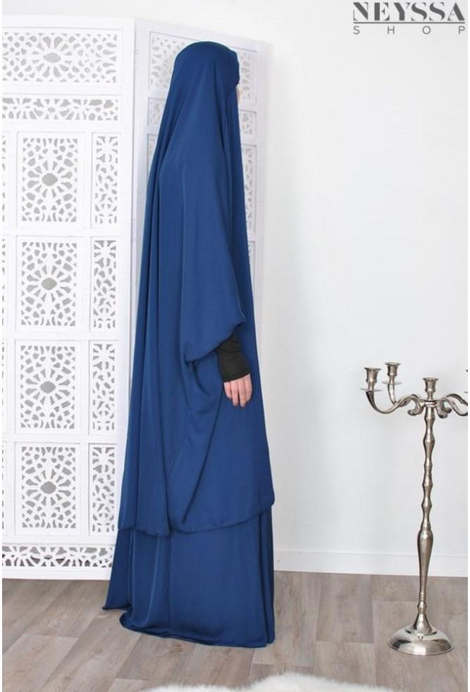 Jilbab Muzdalifa manchettes lycra