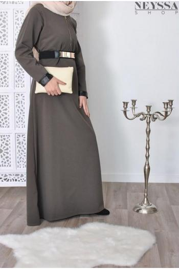 Robe Bi matière Zahra