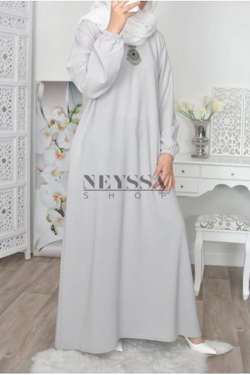 robe musulmane printemps à zippe