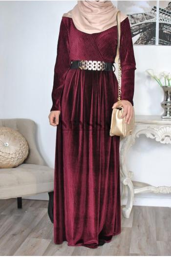 Ismahane cocoon robe musulmane
