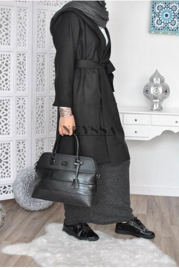 Trench long femme musulmane