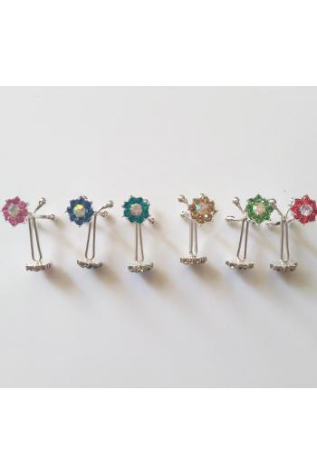 Pince A Hijab Fleur