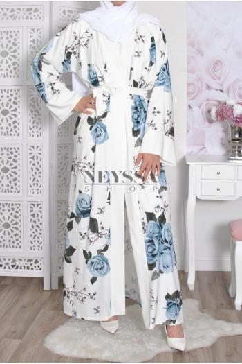 Kimono long Rosas