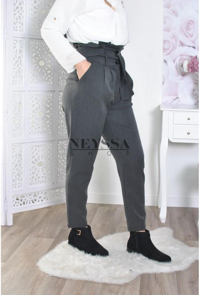 pantalon taille haute neyssa boutique. Black Bedroom Furniture Sets. Home Design Ideas