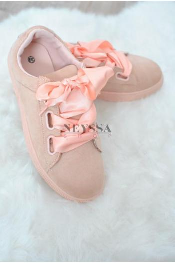 shoes modesty daim pink