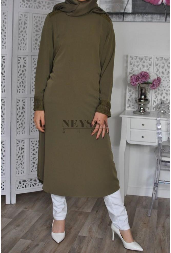 Tunique Longue femme musulmane