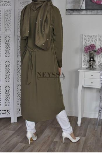 Hijab châle dentelle