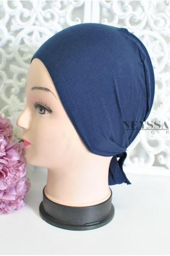 bonnet sous hijab coton à nouer