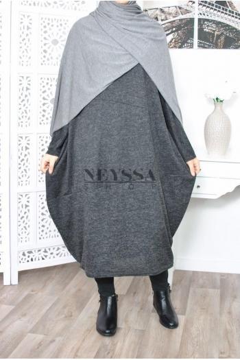 Tunique Size Plus musulmane moderne