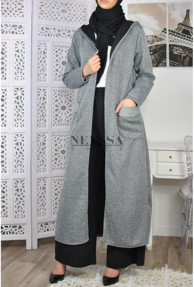 Gilet Long Moda