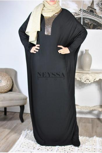 abaya papillon de fête aid ramadan
