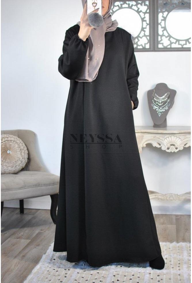 Abaya islamique poches Ihssane