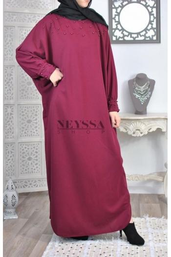 Abaya Tunique Perlée Sawdah