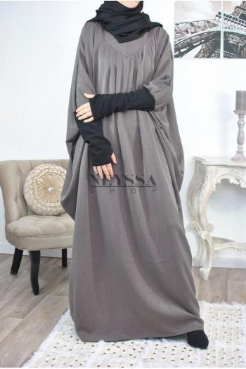 Abaya manchettes mitaine