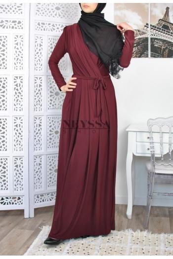 Robe Croisée robe longue musulmane