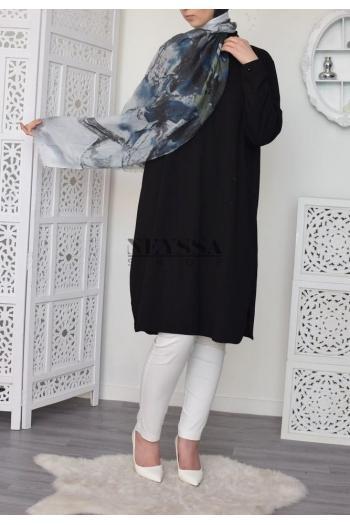 Maxi hijab imprimé pas cher