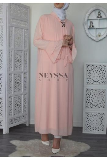 Robe tunique volants Najla