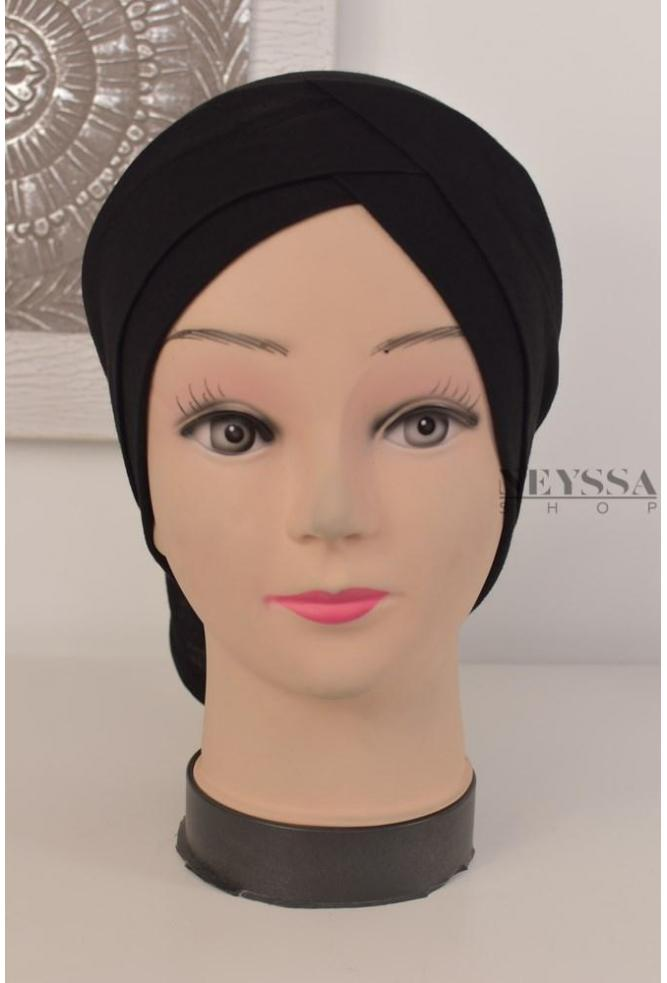 bonnet tube double croisé