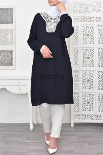 Tunique Nour dentelle