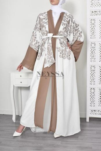Kimono Dubai Sakyna Ivoire