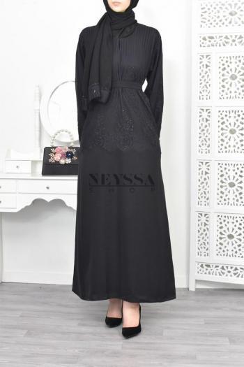 Abaya Dubai Nurah Black