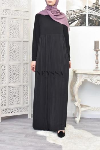 Robe plissée Zohra