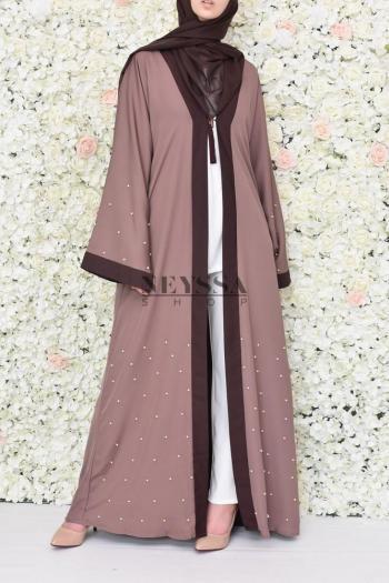 Kimono Abaya Uweidah purple