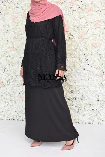 Abaya Aliyah black
