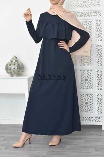 Abaya perlée Nesrine