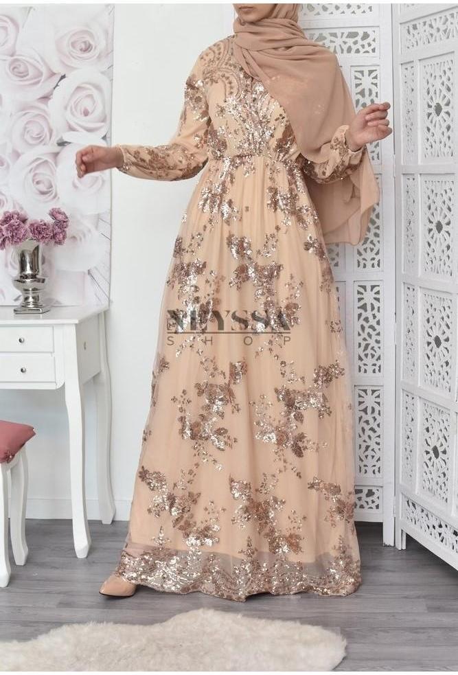 be16b4d3e4e robe soiree pour vos festivités musulmane robe pour fiançailles