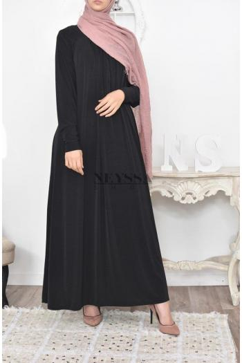 robe évasée hijab moderne