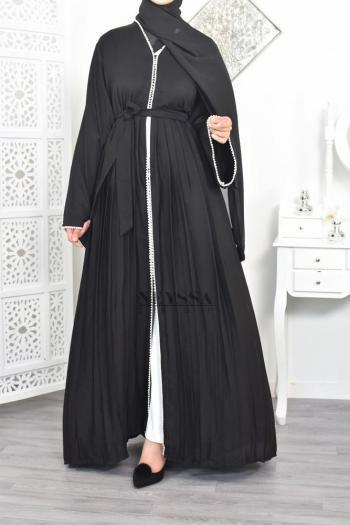 Abaya Dubai Duchesse Black