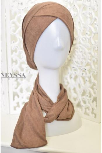 Turban criss cross easy