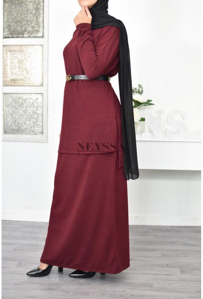 Set tunic and skirt Maeva