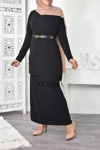 Set tunic and skirt Maeva