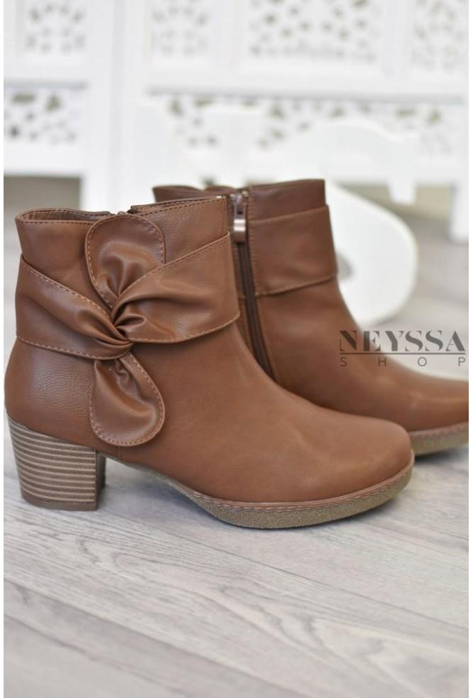 Bottines Noeud camel