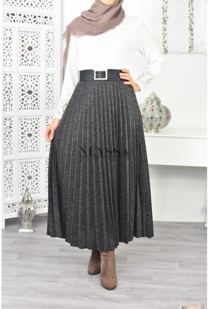 Jupe plissée modest fashion