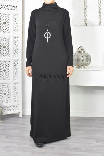 Robe Pull Janelle col roulé
