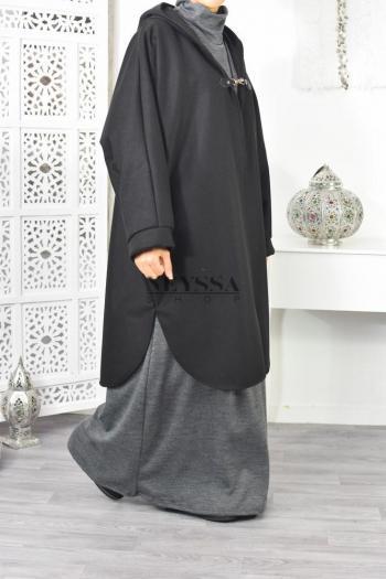 veste grande taille feutrine