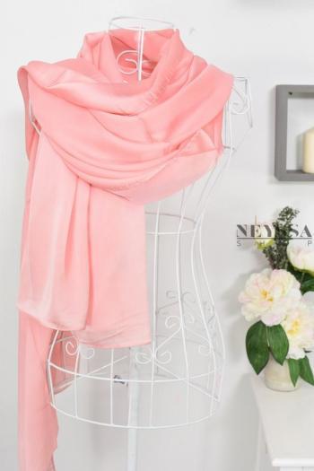 hijab en soie fête mariage