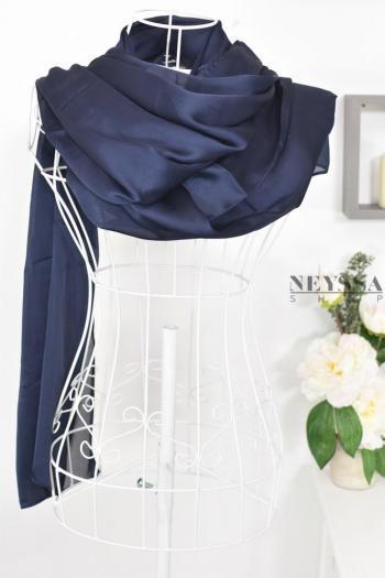 hijab soie fête mariage