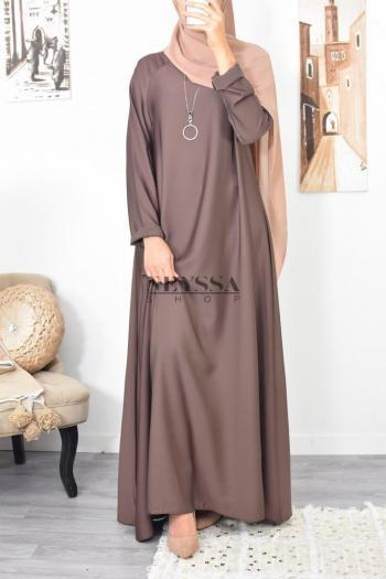 Abaya évasée Nidah boutique mastour