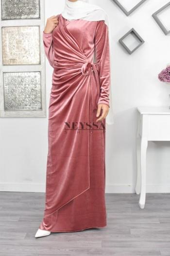 Robe cache coeur Asma